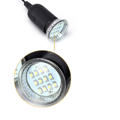 Lixada 4W panneau solaire Propulsé 3 Lampe LED USB 5V chargeur de téléphone portable Système Home Kit Garden Pathway Stair Camping plein air Pêche