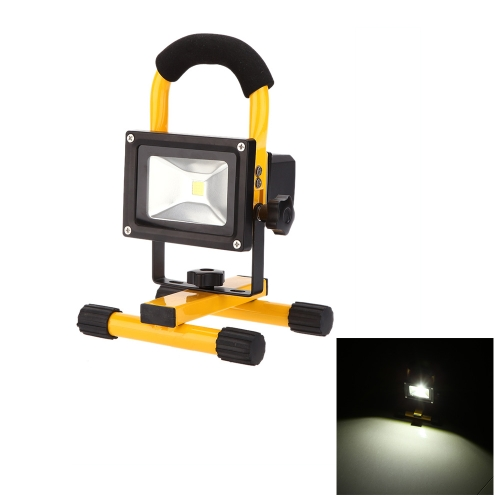 IP65 10w High Power 600LM LED Flood Light Rechargeable Adjustable Portable Durable Outdoor Daylight