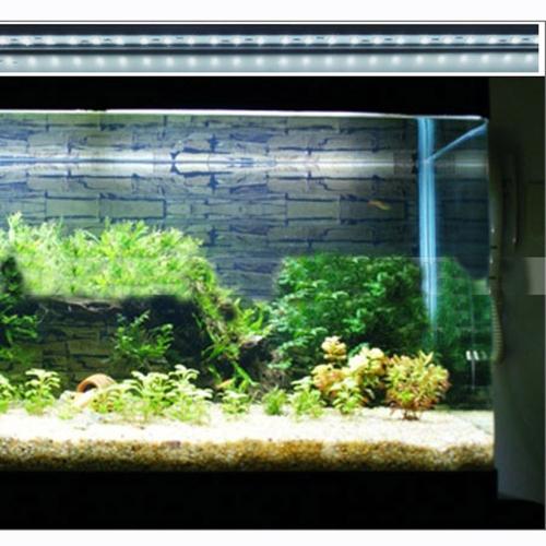 Underwater 24 LED 5W Aquarium Fish Tank Garden Pool Light Suction Stick Strip Bar Colorful Lamp