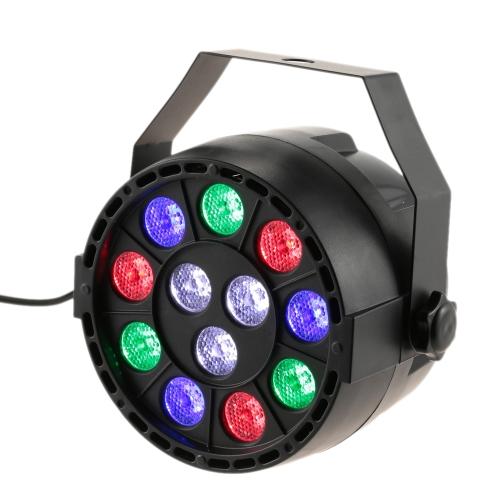Lixada DMX-512 RGBW LED High Power Stage PAR