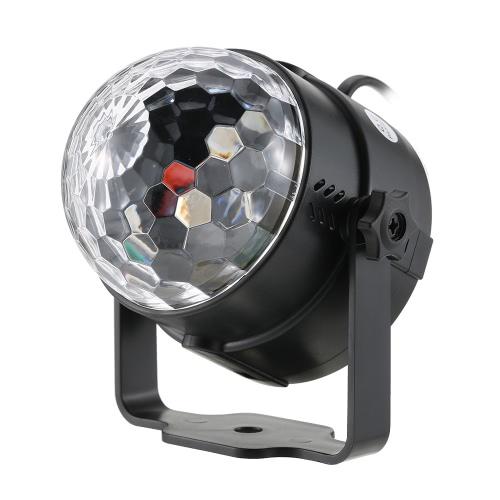 Luces de la etapa LED de cristal