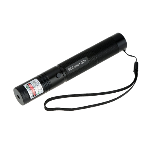 5mW foco ajustable multipropósito ardiente partido puntero de láser verde 301 pluma linterna Set con adaptador de alimentación de batería recargable de cerradura segura
