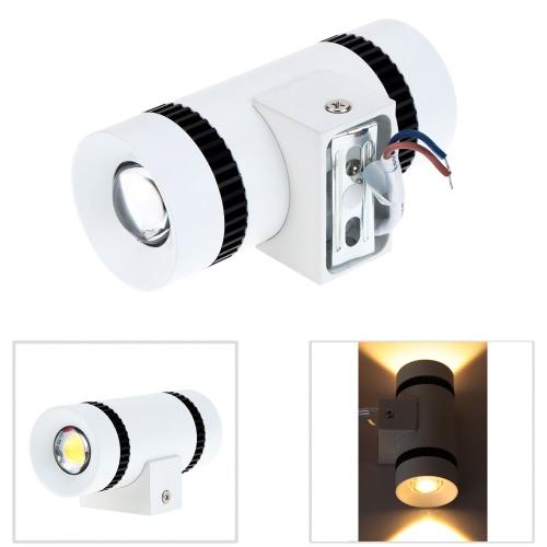 6W 85-265V AC Modern Simple Mini Aluminum LED Wall Light фото