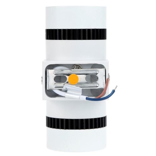 Image of 6W 85-265V AC moderne einfache Mini-Aluminium LED Wand Licht Double End Lampe Leuchte Indoor Schlafzimmer Flur Hotel für Dekoration und Beleuchtung