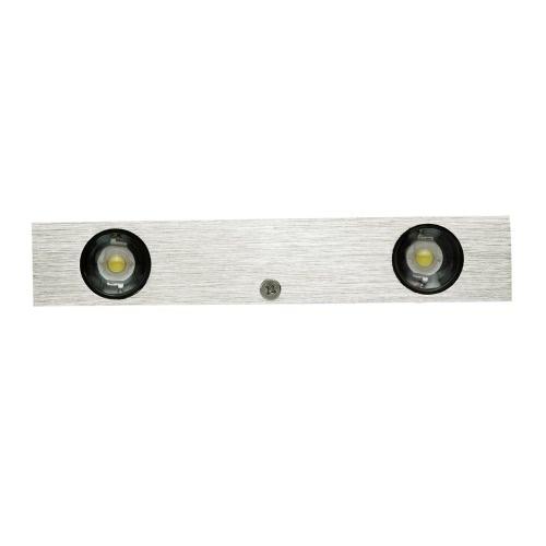 3W 85-265V AC Moderno simple de aluminio LED pared lámpara de luz