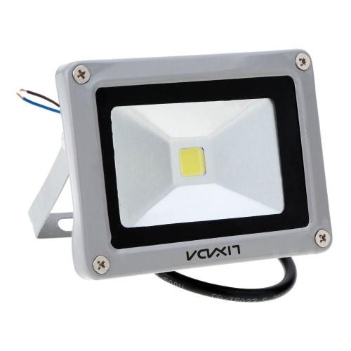 Lixada 10W DC12V IP65 Алюминиевая LED Прожекторная Лампа Epistar Чип сталинитовый высокомощный для Сада Площади Двора