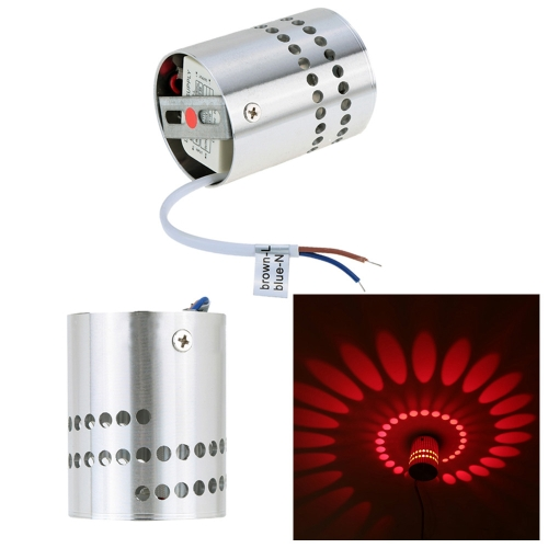 Современное минималистическое алюминиевое спиральное освещение Светодиодный настенный светильник