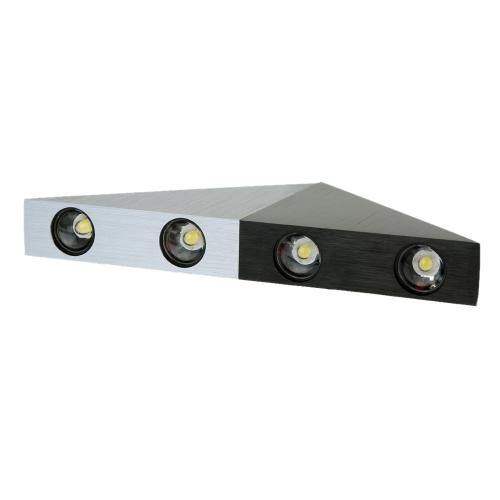 4W 85-265V AC Модный Простой Треугольный Алюминиевый LED Настенный Светильник декоративная лампа для Спальни Гостиници Коридора Гостиной