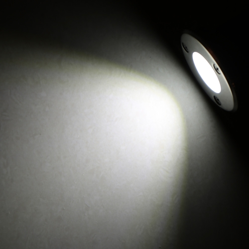 5W 85-265V AC IP67 COB LED Underground Light Lamp Waterproof High-power Tempered Glass Outdoor Garden Yard Landscape CE RoHs