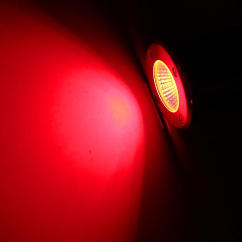 10W 12V DC IP67 COB светодиодные подземный свет лампы водонепроницаемый мощных закаленное стекло открытый сад путь площади дворе пейзаж CE RoHs