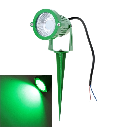 8W 12V AC DC IP65 Green Aluminum LED Lawn Spot Light Lamp High Power RGB Warm/Nature White Outdoor Pond Garden Path CE RoHs