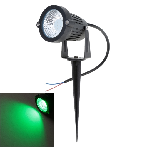 10W 12V AC DC IP65 Green Aluminum LED Lawn Spot Light Lamp High Power RGB Warm/Nature White Outdoor Pond Garden Path CE RoHs