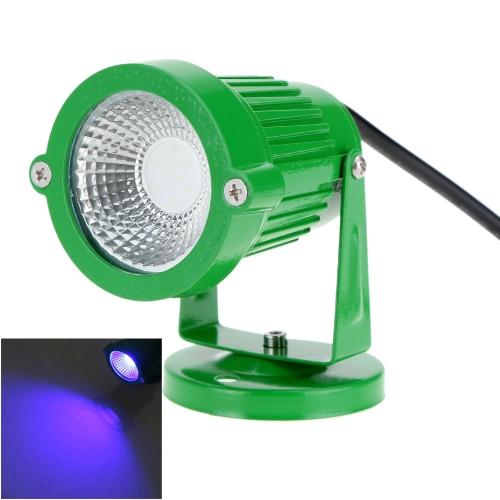 8W 85-265V AC IP65 Czarna aluminiowa lampa błyskowa na trawniku Lampa świetlna wysokiej mocy RGB ciepła / biała natura Outdoor Staw Ogród Droga CE Rohs