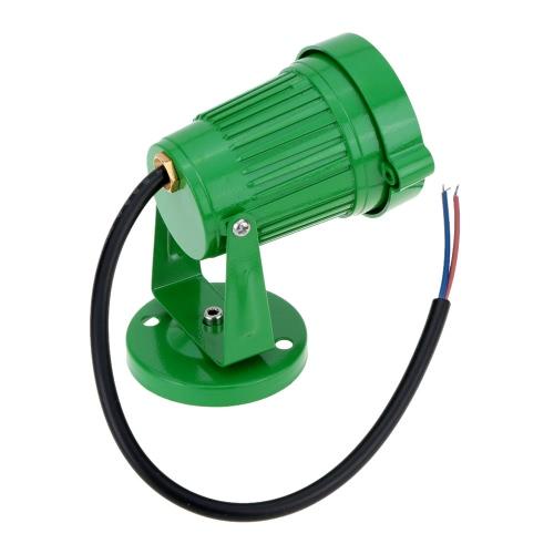 8W 85-265V AC IP65 зеленый алюминия привели газон светильник лампа высокой мощности RGB тепло/природа белый пруд сад путь CE RoHs