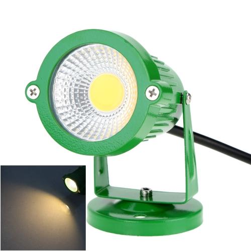 6W 85-265V AC IP65 зеленый алюминия привели газон светильник лампа высокой мощности RGB тепло/природа белый пруд сад путь CE RoHs