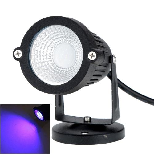 6W 12V AC DC IP65 Черный алюминиевый сплав LED Лампа для Лужайки высокой мощности RGB для Открытого Пруда Сада Пути Живописного района CE ROHS