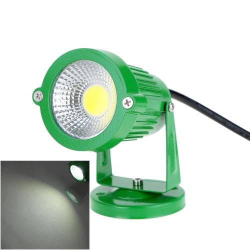 6W 12V AC DC IP65 Green Aluminum LED Lawn Spot Light Lamp High Power RGB Warm/Nature White Outdoor Pond Garden Path Landscape Decor CE RoHs