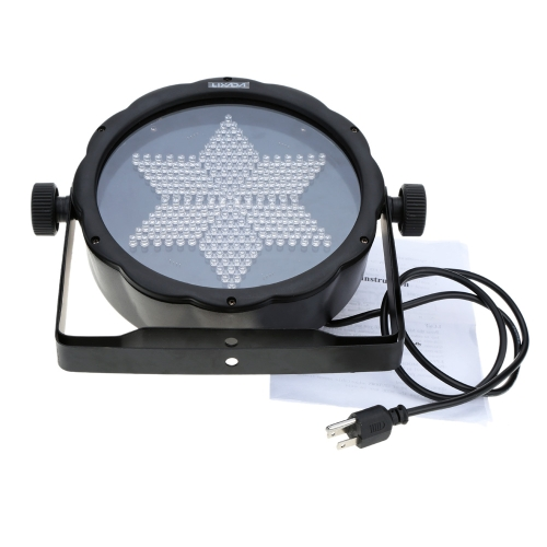 Lixada DMX-512 RGB LED Stage PAR Light Lighting Strobe Professional 3/7 Channel Party Disco Show 25W AC 90-240V
