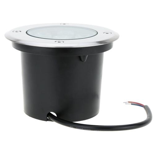 Lixada 7W 12V DC IP67 LED Underground Light Lamp