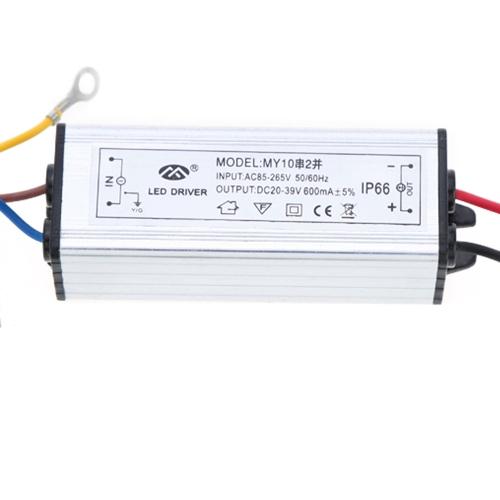100-265V AC do 20-39V DC 20W Sterownik LED Zasilacz AC / DC Przełącznik Przełącznik Zasilacz IP66 CE RoHs