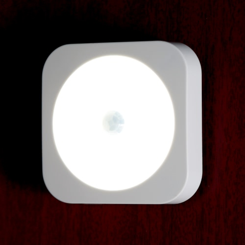 Mini Motion Sensor LED Night Light Wireless Rechargeable Build-in Lithium Battery Cabinet Bedside Hallway CE RoHs