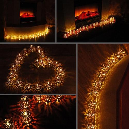 Lixada Lantern Lamp Fairy String Light