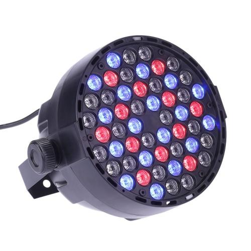 Lixada DMX-512 RGBW LED de la etapa Luz PAR