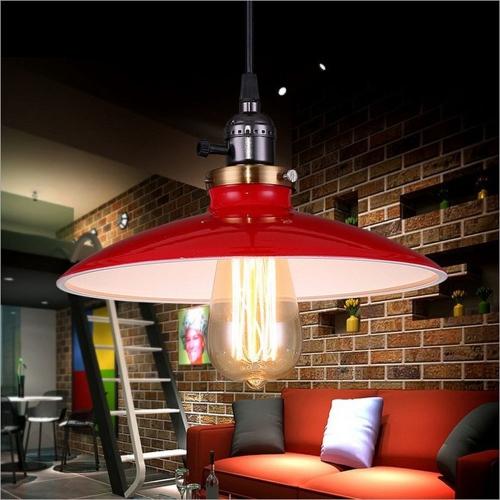 Lixada Классическая Ретро База подвесной лампы для E27 Лампы для Салона Отеля Спальни с 1.2 м проводом