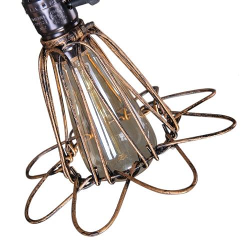 Lixada Klasyczna Retro Vintage Lampa Wisząca Lampa E27 Klatka Schodowa Antykwariaty