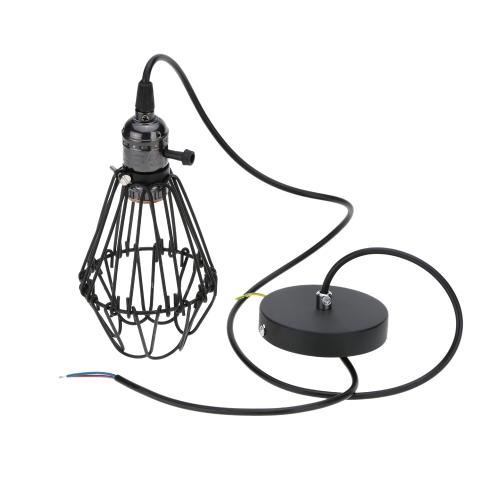 Lixada Classical Vintage Retro Pendant Lamp Light E27 Bulb Loft