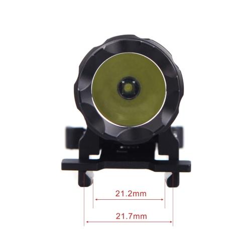 Lixada LED Tactical Gun Flashlight