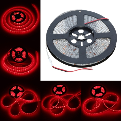 Lixada SMD 5050 IP65 60LEDs/m 5m/lot 12V LED Fiexble Strip Light-Red Blue Green for Bar Hotel Restaurant– TOMTOP