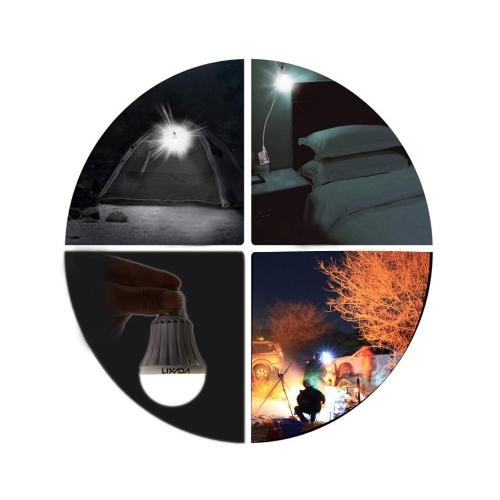 LIXADA AC 85-265V 5W LED Bulb Light Lamp for Home Camping Hiking Emergency Outdoor Illumination