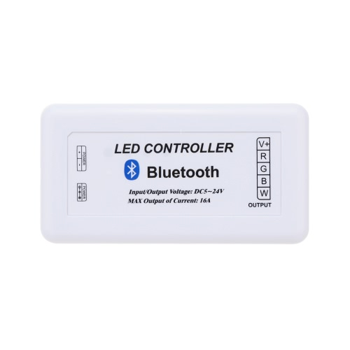 PWM Bluetooth RGBW LED Controlador