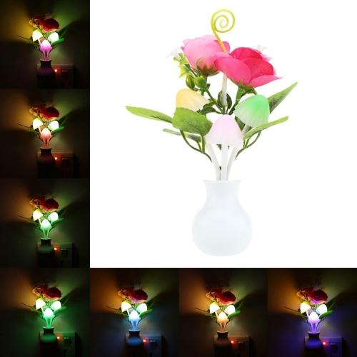 LED Flower Plant Color Change Sensor Light