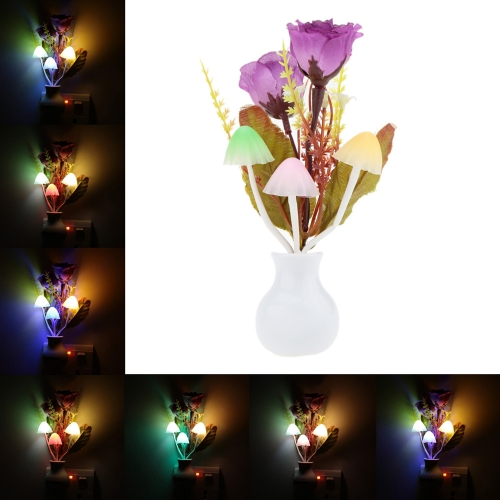 LED Flower Plant Color Change Sensor Light