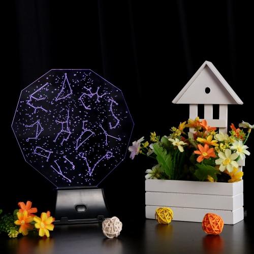 Tomtop coupon: Lixada 3D LED Lamp Light USB Constellation Sky Colorful Night Light for Wedding Deco Innovative Christmas Gift Present