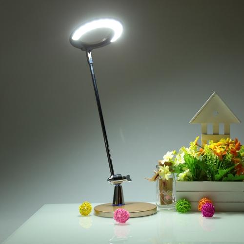 Lixada LED Desk Table Rotational Lamp Light Adjustable Brightness + qi Standard Wireless Charger for Smartphone for iphone Samsung Nokia
