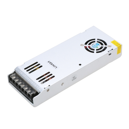 Lixada AC 170-250V to DC 12V 30A 360W Slim Switch Power Supply for LED Strip Light LED Display Industrial Equiment