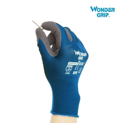 Wonder Grip Gardening Gloves Abrasion-proof 18-Gauge Nylon Liner & Nitrile Coating Universal Work Gloves фото