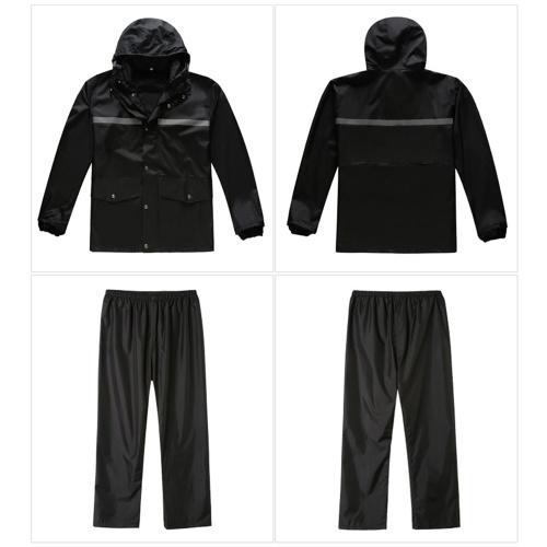 High Visibility Reflective Rain wear Suit