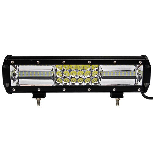12in 324w Tri-row LED Bar Light Flood Spot Combo Off Road Driving Lamp for Vehicle Truck Tractor ATV SUV UTV