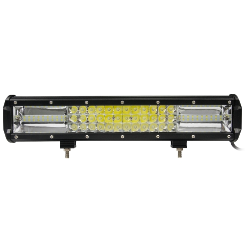 16in 432w Tri-row LED Bar Light Flood Spot Combo Off Road Driving Lamp for Vehicle Truck Tractor ATV SUV UTV