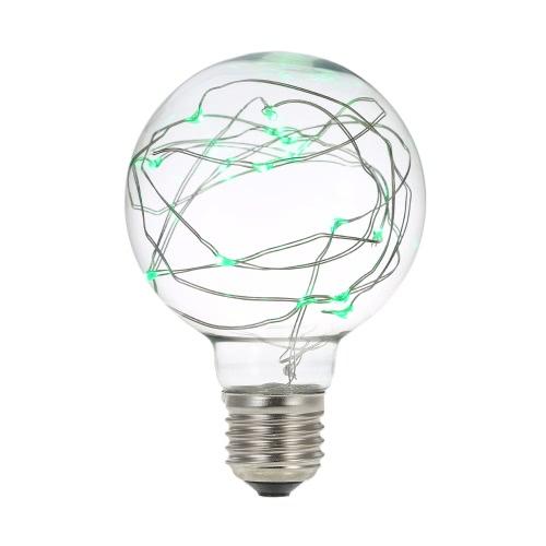 Bombilla E27 220-240V alambre de cobre Tira Hilo de Luz LED