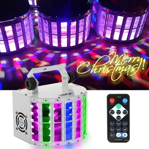Lixada 24W RGBW LED Projector Stage Lighting Lights