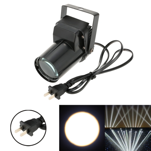 3W Mini LED de un solo haz de color Beam Spotlight Efecto Etapa Lámpara de luz