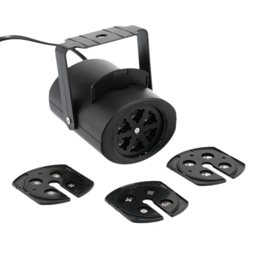 Mini lampada a LED RGB a 4 carte variabili