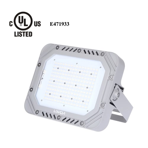 Lixada TUV Certification 200-240V 150W 17250LM High Bright IP66 Water Resistant White LED Flood Light Spotlight Security Lamp for Garden Wall Outdoor