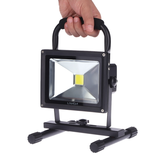 Lixada 10W LED Rechargeable Security Emergency Floodlight