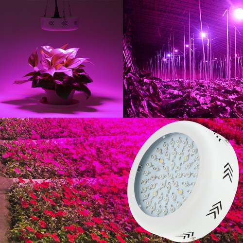 150W AC85-265V 50LEDs 15000LM Plant Grow Light Full Spectrum Vegetables Herbs Flowers Lamp Greenhouse Indoor Garden Hydroponic US Plug